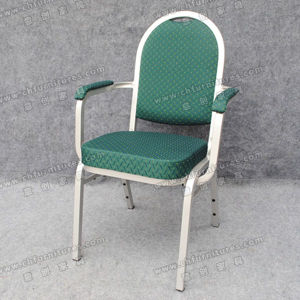 Green Armrest Chair (YC-ZL12-01) pictures & photos