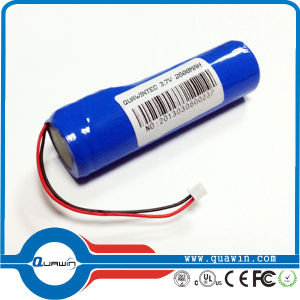 3.7V 2600mAh 18650 Li-ion Battery Pack pictures & photos