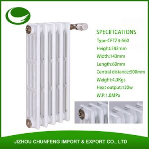 Traditional Four Columns 660mm Cast Iron Radiators