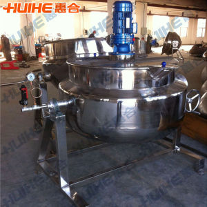 Three Layers Steam Jacketed Kettle for Sugar pictures & photos