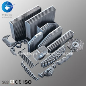 Aluminium Profile Aluminium Alloy for Radiator Heat Sink / Industrial Profile /