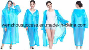 Custom Promotional Functional PVC Rain Poncho pictures & photos
