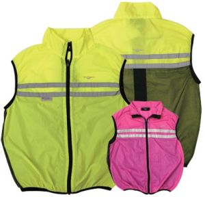 Economy High Visibility Security Vest for Motorcyle pictures & photos