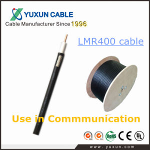 Low Loss LMR400 Coaxial Cable for Communication Field