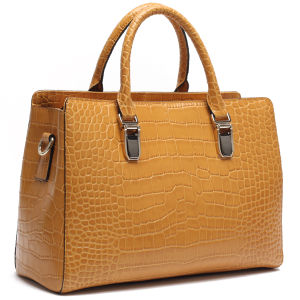 e3c9009bff China Elegant Crocodile Pattern Pure Leather Bags with Euramerican New  Design - China Leather Bag
