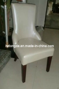 High Back Upholstery Wooden Dining Chair (TDSM-27)