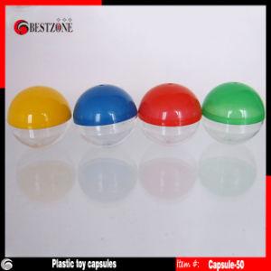 Empty Plastic Toy Capsules for Vendors (Capsule-50)