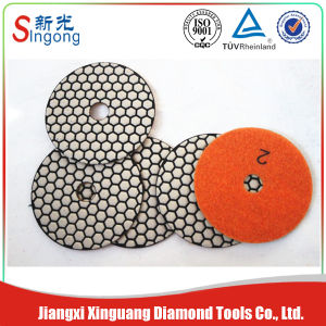 Diamond White Wet Polishing Pad for Floor Polishing pictures & photos