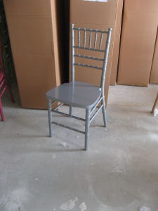 Antique Hotel Silver Chiavari Chair pictures & photos