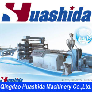 Three Calender Plastic Sheet/ Film Extrusion Line (HSD) pictures & photos