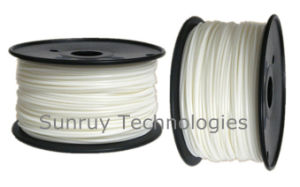 3.00mm Diameter White PLA 3D Filament for 3D Printers