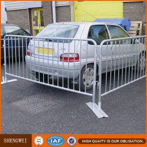 Steel Tube Traffic Galvanized Crowd Control Barrier Fence pictures & photos