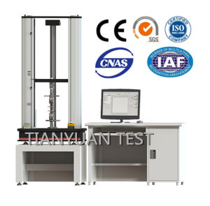 Ty8000 Electronic Universal Testing Machine 50n-10kn Test Equipment (servo) pictures & photos