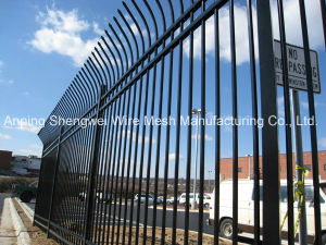 High Security Commercial Steel Fencing Panel with Bend pictures & photos