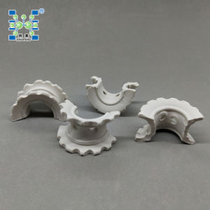 Ceramic Super Intalox Saddle Ring for Scrubber Tower pictures & photos