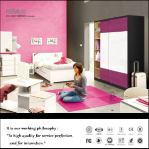 2015 Shinning Face Slding Door Wardrobe (FY2398) pictures & photos