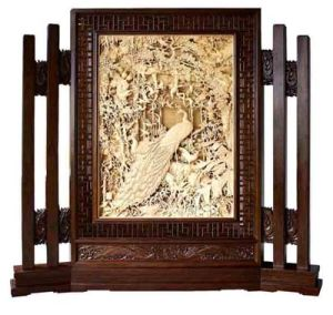 Woodcarving Screen (S001)