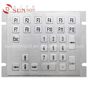 Customized Metal Keyboard for Industrial Use