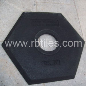 Rubber Pole Stands for Traffic Uses