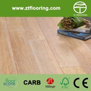 Strandwoven Brush Natural White Bamboo Flooring