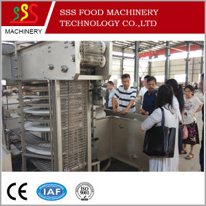 IQF Freezer Fish Fillet Quick Freezing Processing Plant Spiral Freezer