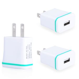 1.0AMP USB Travel Wall Charger Adapter for iPhone 6 Plus
