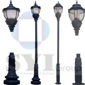 China ductile cast iron outdoor street garden lighting poles price ductile cast iron outdoor street garden lighting poles price aloadofball Images