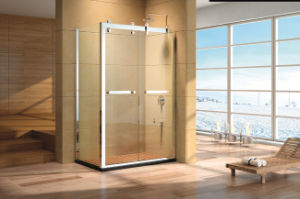 High Quality Shower Enclosure with Stainless Steel Frame Hs-2842f