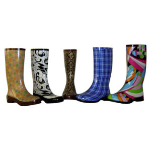 Safety Rubber Boots_Kids Rain Boots_Lady Fashion Rubber Boots pictures & photos
