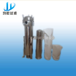 SUS 316 Stainless Steel Bag Filter Industrial Water Filtering Machine