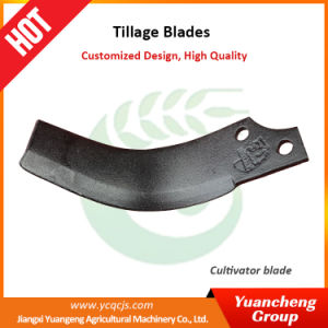 Best Quality Rotary Tiller Blade Agriculture Tiller Blade Power Tiller Blade Manufacturer