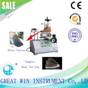 Shoes Peeling Strength Testing Machine/Sole Adhesion/Peeling Tester (GW-034) pictures & photos
