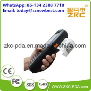 Android Handheld PDA Barcode Scanner with Build-in-Printer pictures & photos