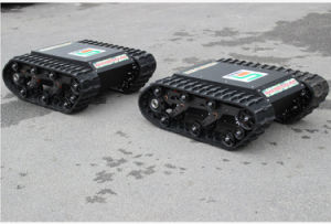 Rubber Crawler RC Robot Chassis (K01SP10SCS2) pictures & photos