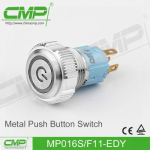 CMP 16mm Push Button with Power Symbol Illumination pictures & photos
