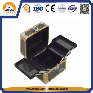Aluminium Carrying Beauty Case for Makeup with Trays (HB-2032) pictures & photos