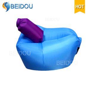 Por Lazy Bag Sofa Inflatable Hammock Air Bean Chair