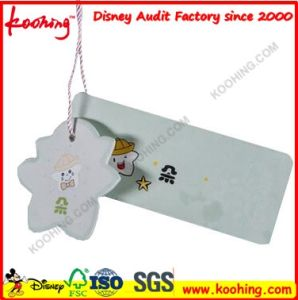White Paper Garment Dress Clothes Swing Tag with Custom Printing pictures & photos