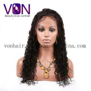 100% Brazilian Natural Hair Curly with Factory Wholesale Price Full Lace Wigs pictures & photos