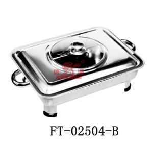 Stainless Steel Chafing Dish with Handle (FT-02504-B)