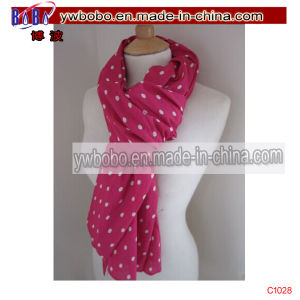 Printed Buff Woman Scarf Polyester Scarf Spotty Scarf (C1028) pictures & photos