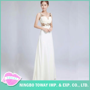 Women Bridesmaid Modest Ladies Long Dresses Evening Wear pictures & photos