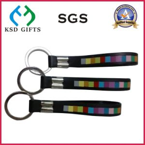 Promotional Rubber Silicone Key Chain/Keychains/Key Holder/Key Tag pictures & photos