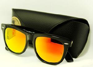 16b409141 China Fashion Lady′s Man′s Red Frog Mirror Wayfarer Sunglasses Rb2140 Glass  Lenses Black Frame - China Fashion Lady Sunglasses, Rb2140 Sunglasses