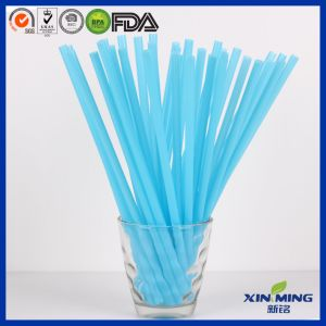 Food Grade Colorful Straigh Plastic Drinking Straw pictures & photos