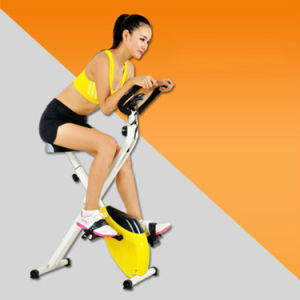 Folding Adjustable Fitness Upgraded Machine Magnetic Upright Exercise Bike