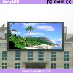 Outdoor High Brightness Full Color Fixed Screen LED Display Panel for Video Wall Advertising pictures & photos