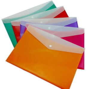 Office Supply Cards Colorful Double Color File Bag pictures & photos