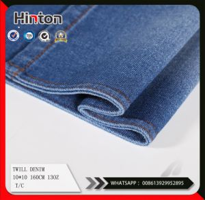 Heavy Twill Denim Fabric for Coat Andjeans 13oz pictures & photos