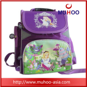 Cute Purple Children Backpack Book Bag for School pictures & photos